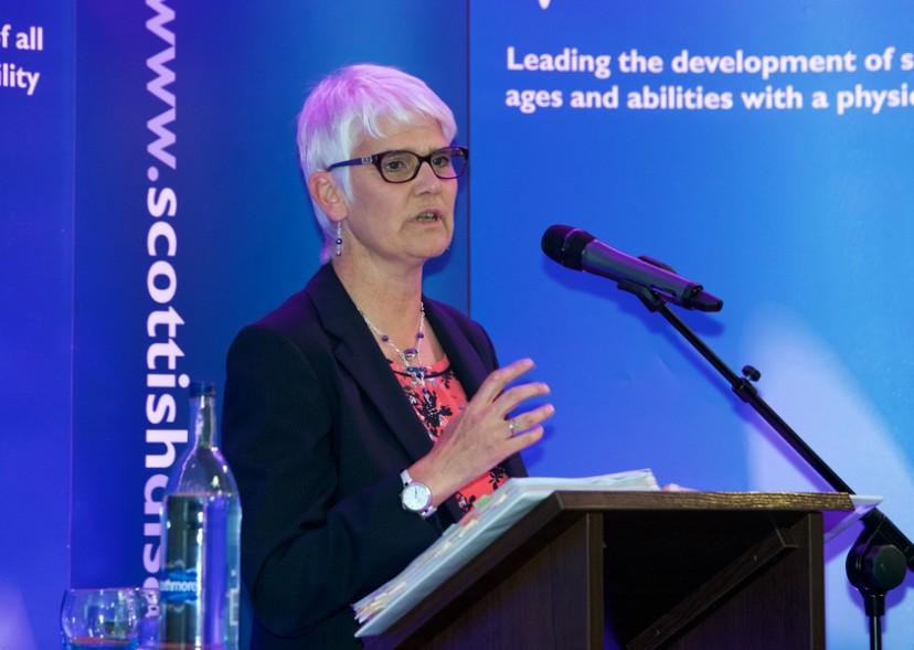 Scottish Disability Scotland Awards 2015, Stirling. Janice Eaglesham